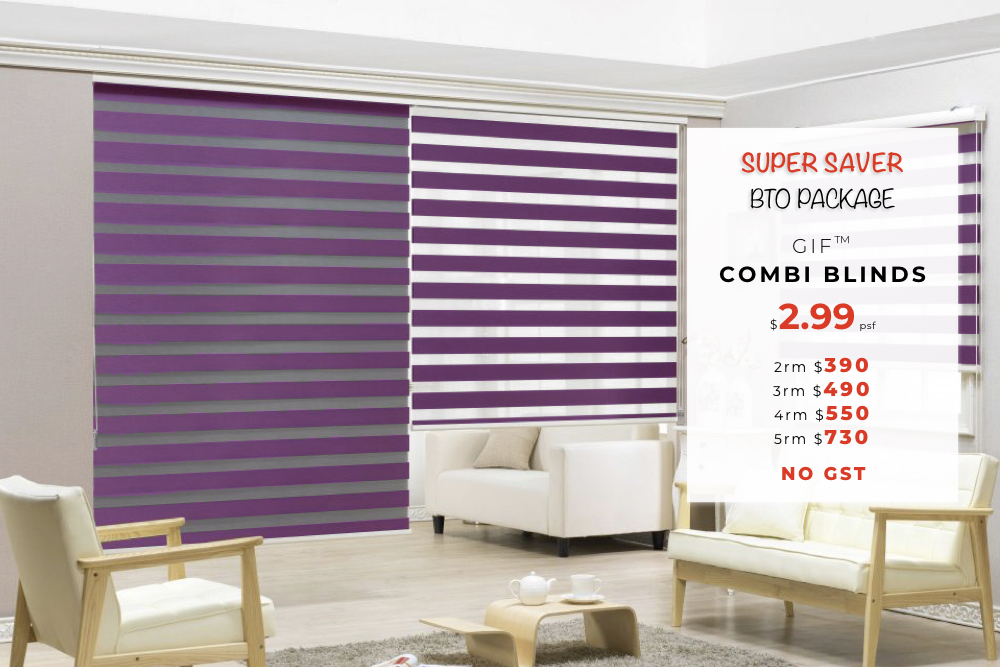GIF® Combi Blinds Value Package
