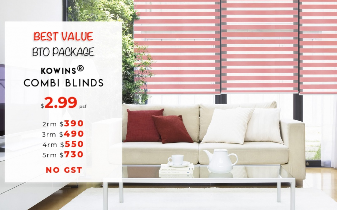 KOWINS® Combi Blinds Value Package